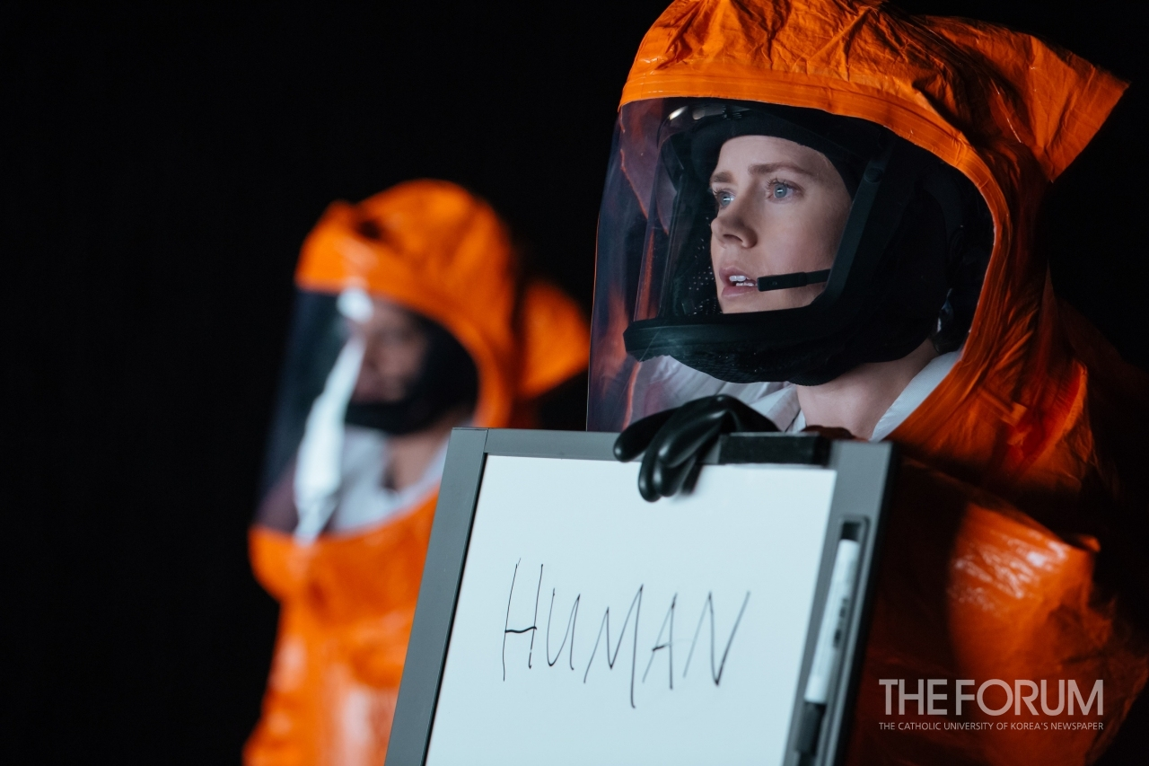 Arrival (2016): Questions About Linguistics through Alien Encounters